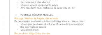 Vie du Réseau, Activation & Maintenance